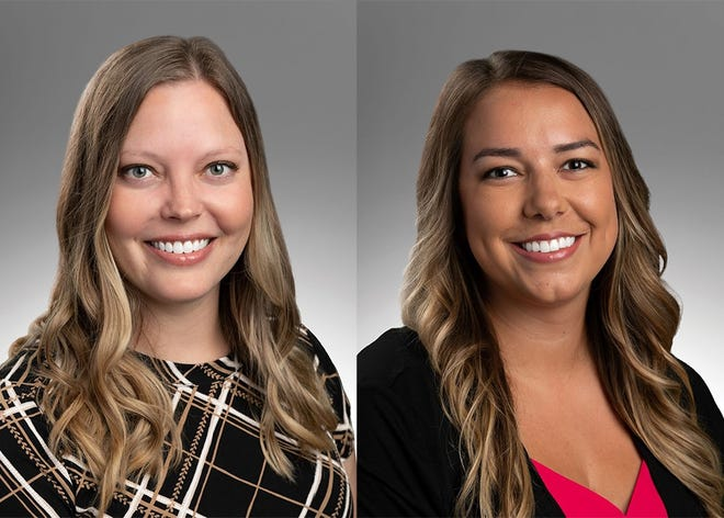 Samantha Darnall-Werlinger, MD, family medicine, and Stephanie Peyton-Aas, MD, family medicine