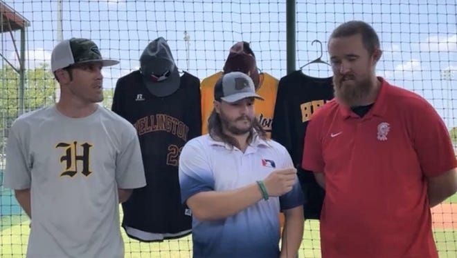 Wellington Heat Introduction (left to right): Brett Clark, Sheldon Howell, and Ryan Jenkins