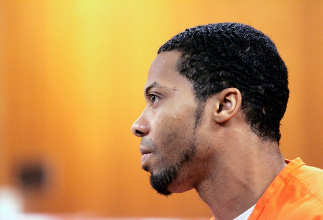 Juwan Deering listens during his sentencing in Oakland County Circuit Court in Pontiac, Mich. in this Aug. 23, 2006, file photo.