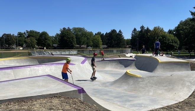 Oconomowoc's skatepark opened in mid-August.