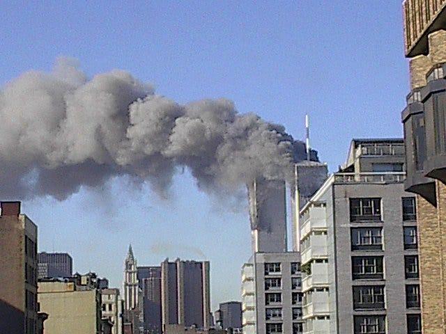 Kathleen Krier, an Oconomowoc High School graduate, took this photo on September 11, 2001.