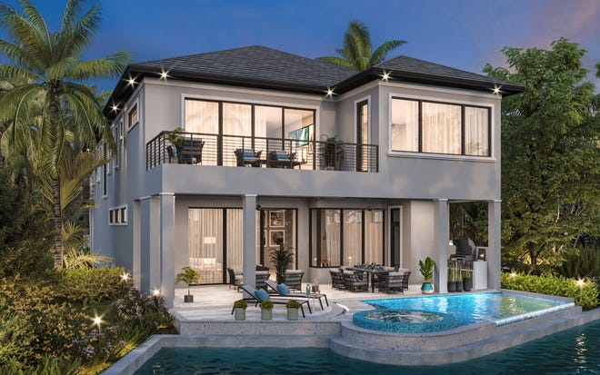 Theory Design is creating the interior design for Seagate Development Group's furnished Olema model at Talis Park.