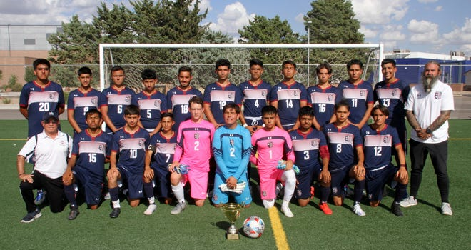 The Deming High varsity Wildcat soccer team ended a 27-year drought by bringing home a tournament championship trophy this past weekend in Las Cruces. The 'Cats defeated Roswell, 2-0, tied Santa Teresa (2-2) and won 3-1 on penalty kicks and blanked Gadsden High 3-0.