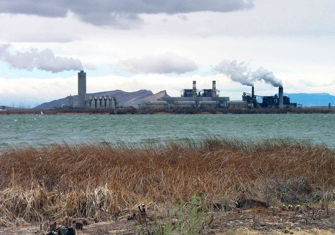 In this April 2006, file photo, is the Four Corners Power Plant in Waterflow, N.M., near the San Juan River in northwestern New Mexico.