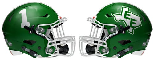 Eldorado High School Football #HSHelmet