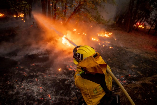 Lake Tahoe evacuations continue as fire blasts on Hwy 89