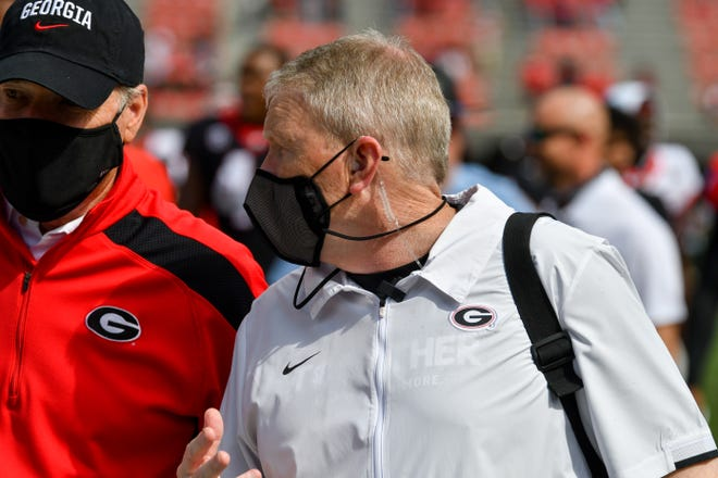 Executive Associate Athletic Director for Sports Medicine Ron Courson during the 2021 G-Day Game at Sanford Stadium in Athens, Ga., on Saturday, April 17, 2021.  (photo by Rob Davis)