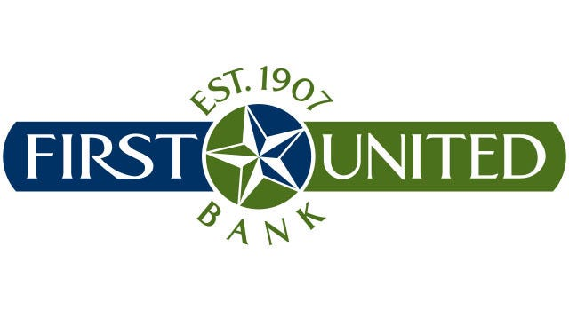 The Lubbock-based First United Bank, which has a branch in Wichita Falls, earned the Best of Community Banking award from the Independent Bankers Association of Texas.