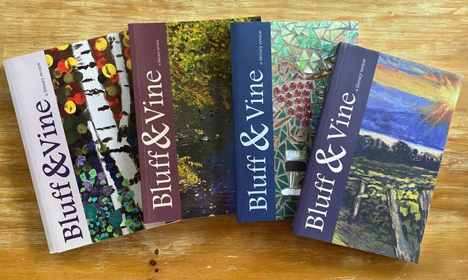 """Submissions for the next edition of """"Bluff & Vine"""" are due by Sept. 15."""