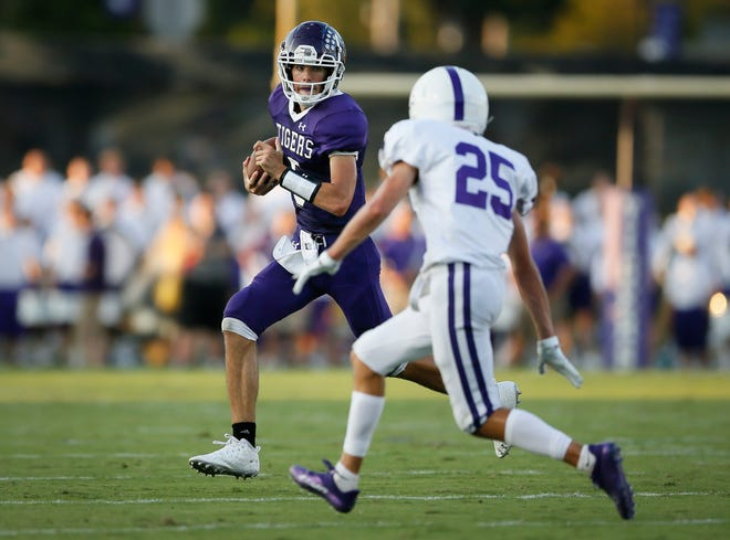 Pickerington Central quarterback Braden Mantooth will face a standout defense when the Tigers meet visiting Wexford (Pennsylvania) North Allegheny on Sept. 3.
