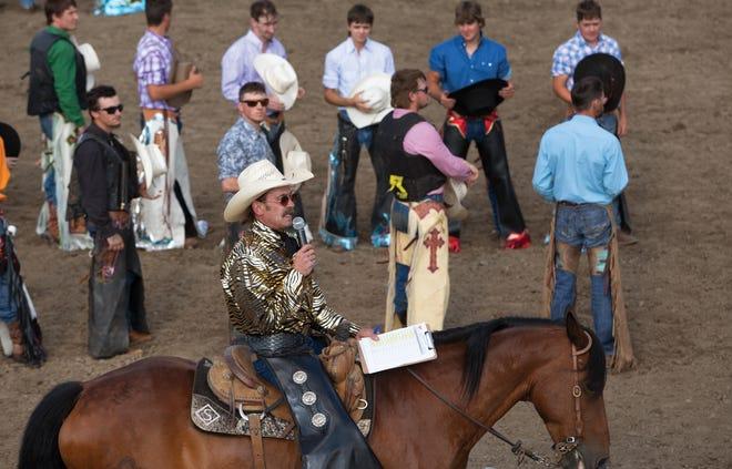 Russ Spreckelmeier at the Fox Hollow Rodeo
