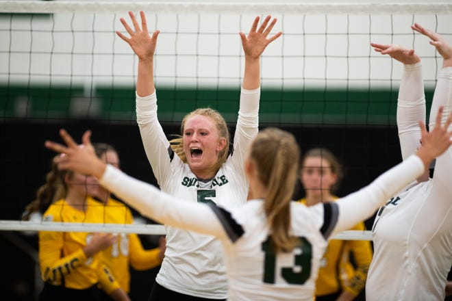 Smithville's Brooke Fatzinger has been one of the area's best players through the first month of the season.