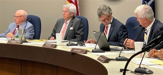 Spartanburg County Council members listened to complaints from a lawyer representing residents opposed to a planned RV park in northern Spartanburg County, Aug. 16.