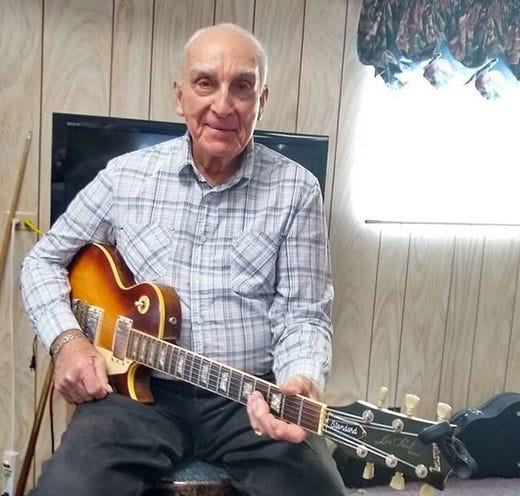 Bob Delk turned 99 years old in August 2021. He grew up north of Peabody where he attended country school at the unincorporated community of Aulne, which today has a population of perhaps 50 people.