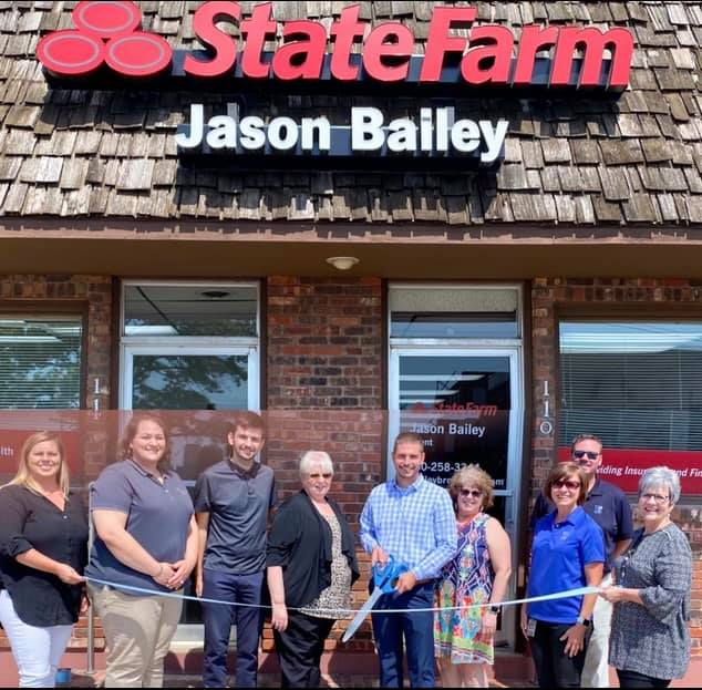 Brookfield Chamber of Commerce and Chamber Business members welcomed new State Farm Agent Jason Bailey and staff! Located at 112 W Brooks.