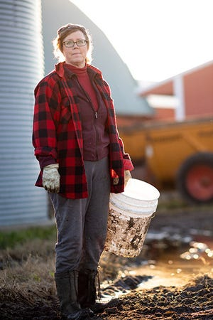 Meg Moynihan, who operates a dairy farm with her husband, decided to specialize in farm stress management after going through stressful periods of her own. She spoke about what she's learned during the recent Kansas Governor's Ag Growth Summit.