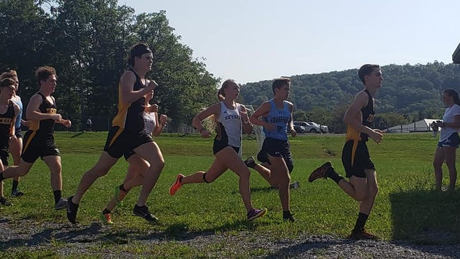 Keyser and Frankfort runners kick off the cross country season with a meet hosted Tuesday by Keyser.