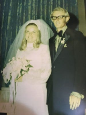 The couple in 1971