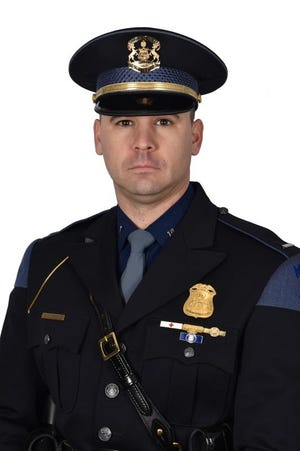 First Lt. Greg Morenko was promoted to Inspector