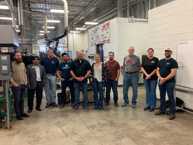High school welding teachers from across the state took part in a weeklong workshop at Monroe County Community College.