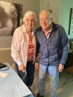 Mr. and Mrs. John C. (Jane A.) Gillen