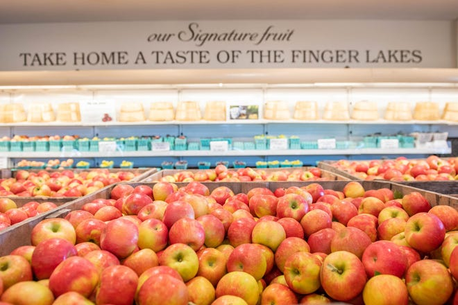 Red Jacket Orchards in Geneva and the rest of Ontario County and the Finger Lakes are getting ready for apple season.