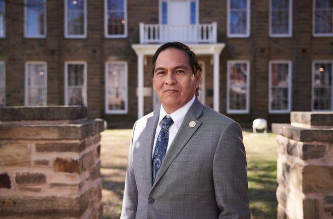 David Hill, principal chief of the Muscogee (Creek) Nation.