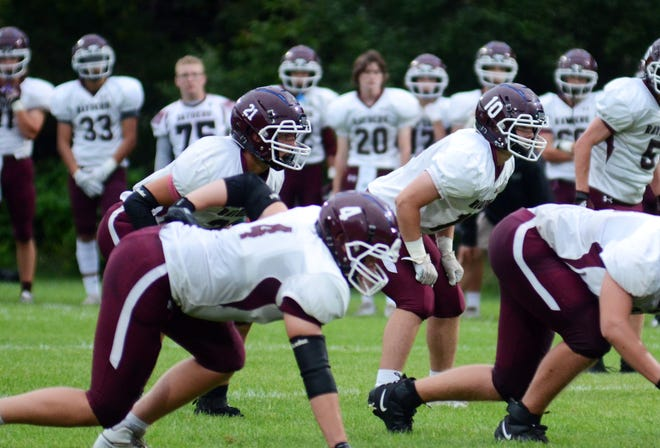 A young group of Charlevoix linebackers that included Landon Swanson (21), Henry Herzog (10) and George Sheets held up against Harbor Springs in week one, but have a big challenge ahead in week two.