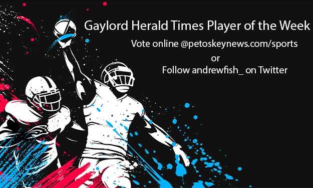 Vote for the Gaylord Herald Times Player of the Week for 8/25-9/1.
