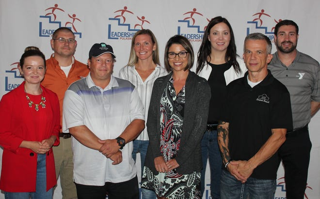 From left: Aria Spears, David Long, Donna Mathis, and C.D. Storie. Second row: Corey Lobdell, Miriam Jones, Jake Foote and Zach Guller. Not pictured: Chris Outten.