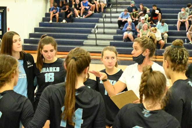 The Lady Sharks volleyball team have 47 straight wins and counting.