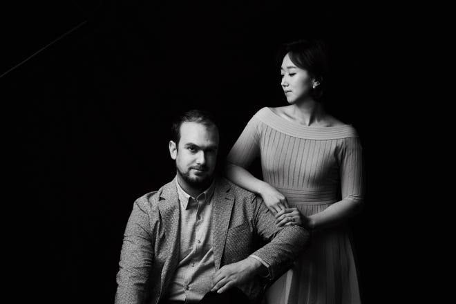 The Shea-Kim Duo -- husband and wife Brendan Shea (violin) and Yerin Kim (piano) -- will perform Sept. 12, 2021, at Middlebury First United Methodist Church in the first concert of the Crystal Valley Concert Series' 2021-22 season.
