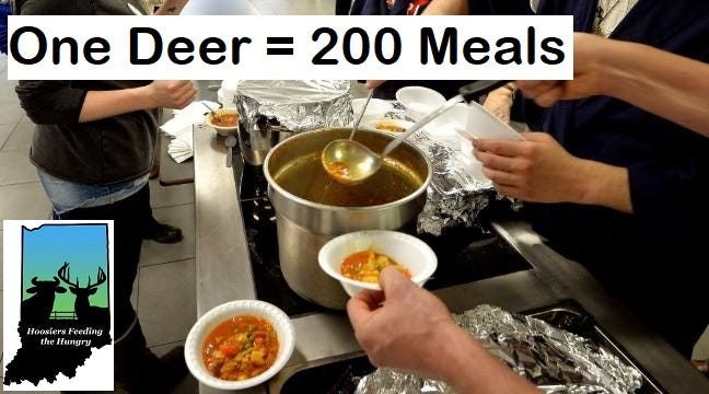 Hoosiers Feeding the Hungry partnered with farmers, hunters, and meat processors statewide in 2020 and together they were able to provide over 1,065,000 meals.