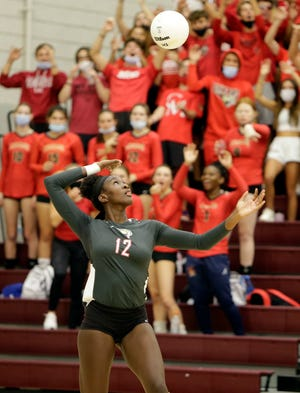 Cardinal Mooney Catholic volleyball is the No.1 seed in the Class 3A-District 7 tournament.