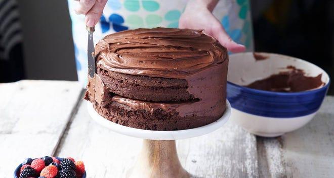 Anne Byrn's chocolate layer cake