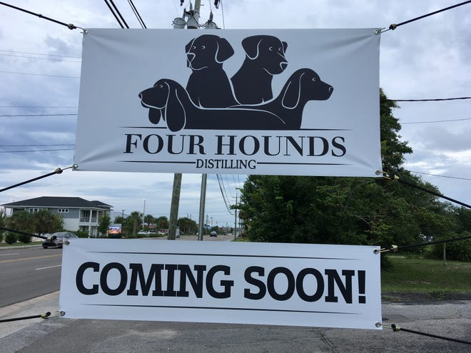 Four Hounds Distilling is looking to open later this month in Carolina Beach.