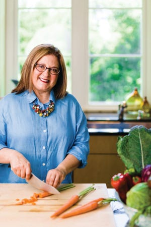 """TV host Sheri Castle, an award-winning food writer and cook, is the host of the new PBS North Carolina Show """"The Key Ingredient with Sheri Castle."""""""