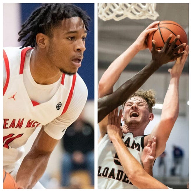 Four-star Maryland small forward Cam Whitmore (left) and four-star Virginia small forward Tyler Nickel (right) remain at the top of UNC basketball's 2022 recruiting board entering September. The Tar Heels, who hosted Whitmore in late August and welcome Nickel for a visit later this month, are seeking their fourth 2022 commit.