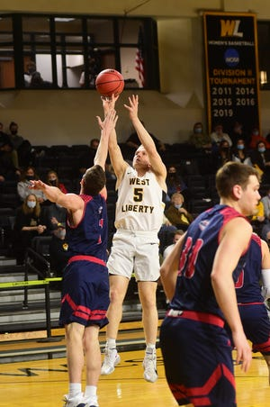 The Division 2 Conference Commissioners Association announced Wednesday that West Liberty University's Dalton Bolon was selected as the 2020-21 D2CCA Male Scholar-Athlete of the Year.