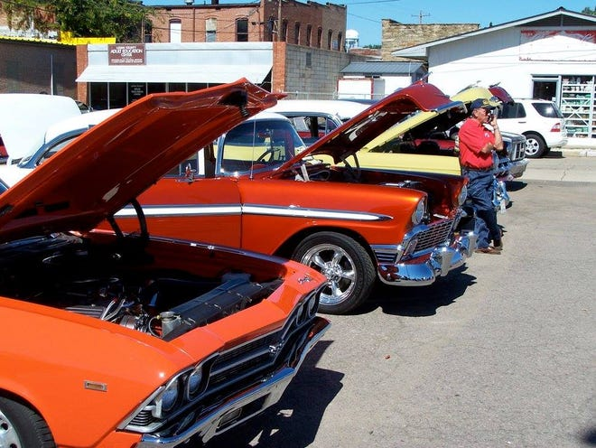 Each year, the Frontier's Day festival features a car show.