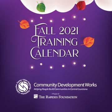 CDW Fall 2021 Training Calendar