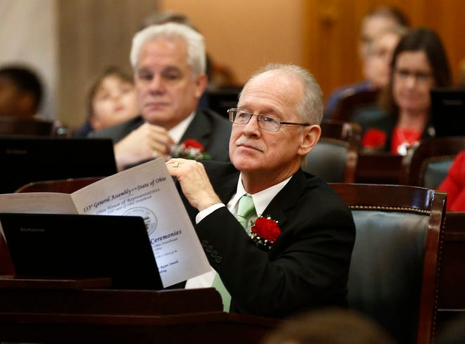 Rep. Doug Green, R-Mt. Orab, photographed January 7, 2019 during opening day ceremonies at the Ohio House of Representatives.