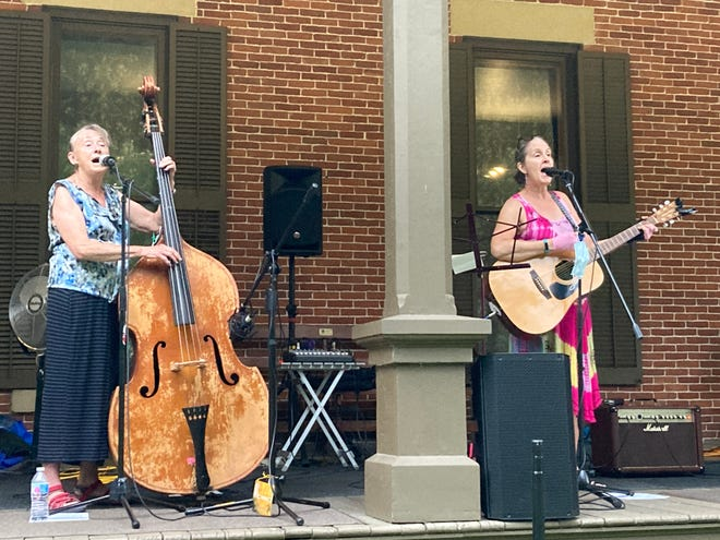 The Cottonwood Jam String Band performs at a past Verandah Concert at the Hayes Presidential Library & Museums. Cottonwood Jam will play the last Verandah Concert of the season on  Sept. 15.