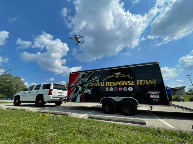 A new Oldham County Aerial Response Team is housed at the Ballardsville Fire Department and will allow firefighters, law enforcement, search and rescue teams and others to use drones for assistance with their work.