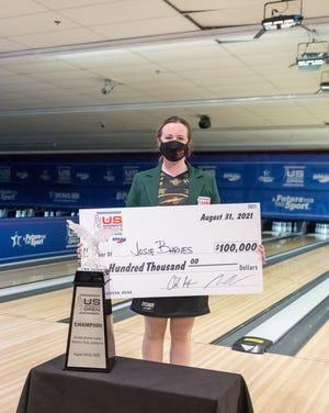 Josie Barnes of Hermitage is the Vanderbilt bowling associate head coach. She won the Women's U.S. Open on the Professional Women's Bowling Association Tour on Tuesday, Aug. 31, 2021, in California.