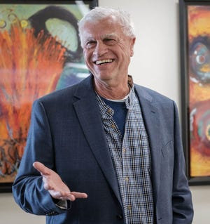 Las Cruces artist and author, George Mendoza.