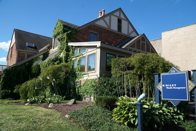 A home at 711 Ann Arbor Trail in Plymouth.