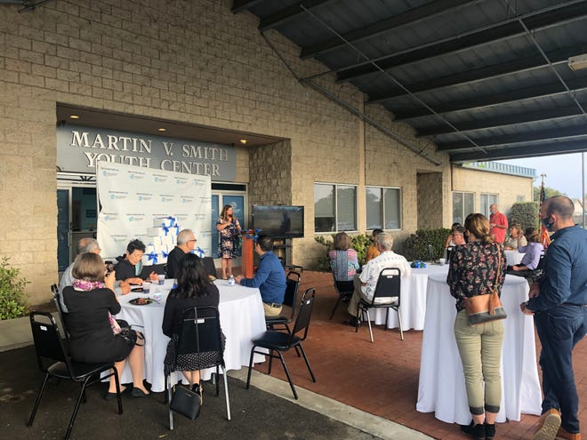 About 30 people gathered at the Martin V. Smith Youth Center in Oxnard for a reception thanking those that donated to the  Boys & Girls Clubs of Greater Oxnard and Port Hueneme in the last two years.