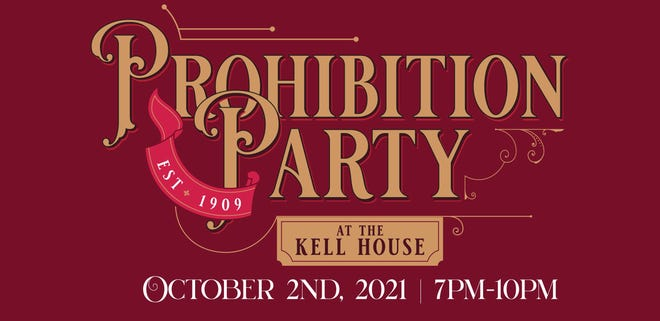 The Kell House is hosting a Prohibition-era themed party Oct. 2.