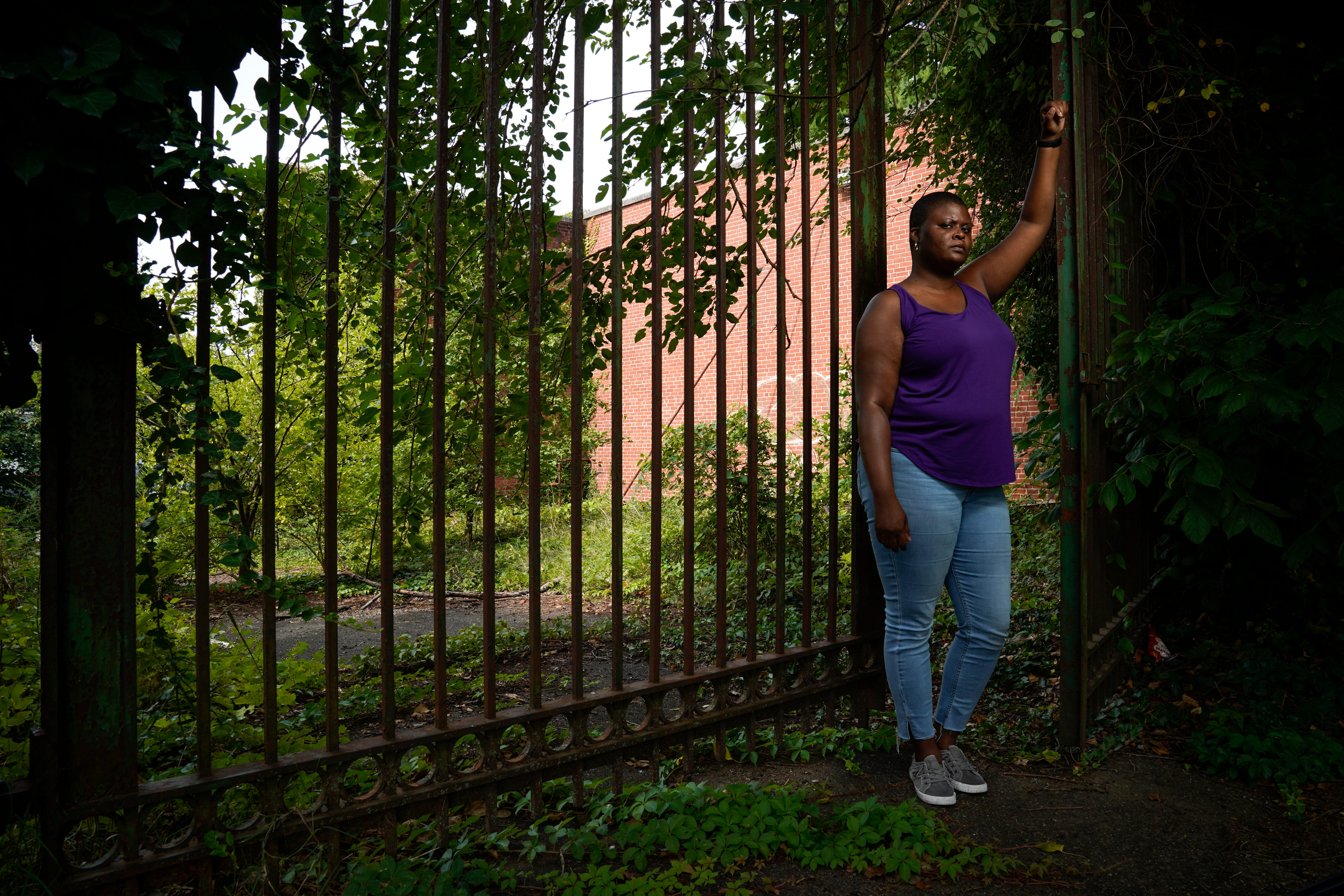 Chimére Smith of Baltimore is a former teacher who became a long-haul COVID-19 advocate after her own bout with the disease that left her with unrelenting brain fog and pain.